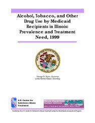 Alcohol, Tobacco, and Other Drug Use by Medicaid Recipients in ...