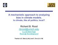 + Bias in Climate Models - Modeling, Analysis, and Prediction Program