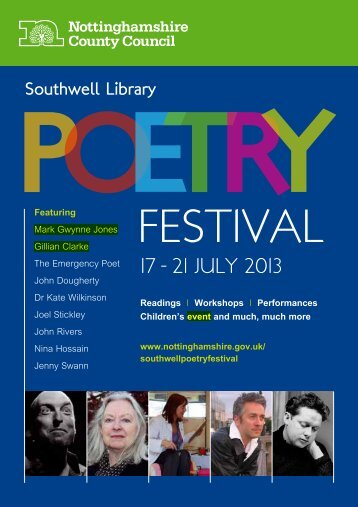poetry festival 2013.pdf - Southwell Town Council