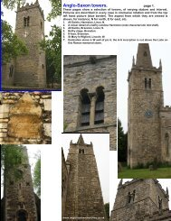 Anglo-Saxon towers. - Anglo-Saxon churches
