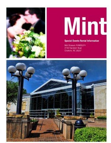 View/Print Rental Packet - Mint Museum of Art