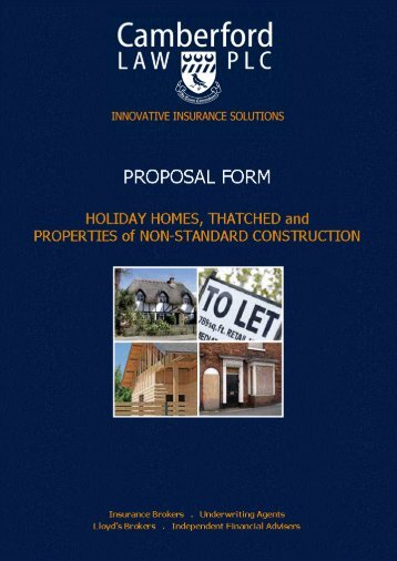 PDF - Holiday Homes - Camberford Law PLC