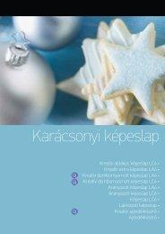 Karácsonyi képeslap - Present Royal Kft.