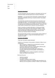 Public And Products Liability Policy - Camberford Law PLC