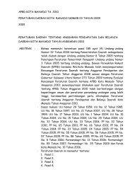 Abstrak Peraturan Perundang-Undangan Tahun 2010 - BPK RI ...