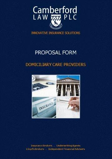 PDF - Domiciliary Care Provider - Camberford Law PLC
