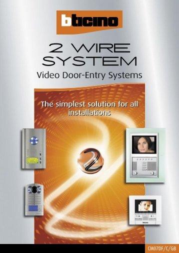 2 wire system bticino?quality=85 bticino bticino intercom wiring diagram at pacquiaovsvargaslive.co