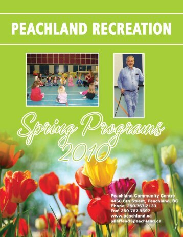 PEACHLAND RECREATION - District of Peachland
