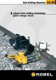 Rail Drilling Machine 10.35