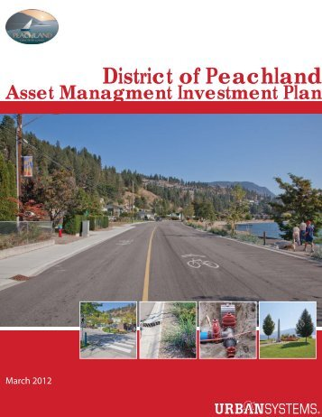 2.3 Asset Management Investment Plan - District of Peachland