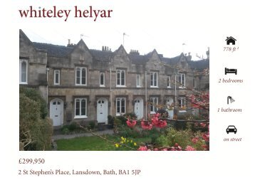Download the brochure and floor plan (PDF) - Whiteley Helyar