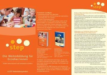 Die Weit Erzie Die Weiterbildung für Erzieher/innen - STEP