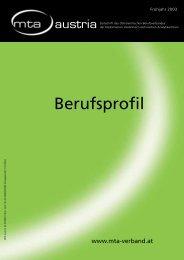 Berufsprofil zum Download - biomed-austria