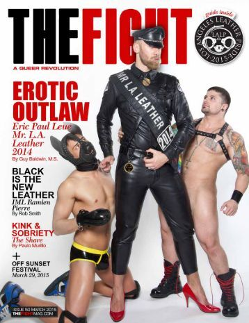 MARCH 2015 THE FIGHT SOCAL'S LGBT MONTHLY MAGAZINE