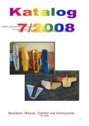 Baukästen, Motoren, Zubehör und Interessantes - Lassogeier