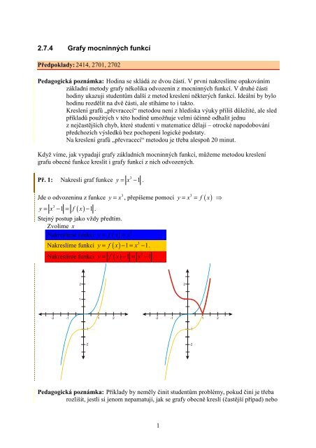2 7 4 Grafy Mocninna Ch Funkca Realisticky Cz