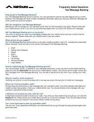 FAQ - MainSource Bank