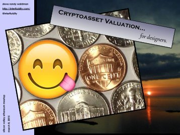 cryptoasset-valuation