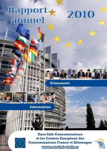 Rapport annuel - Centre Européen de la Consommation
