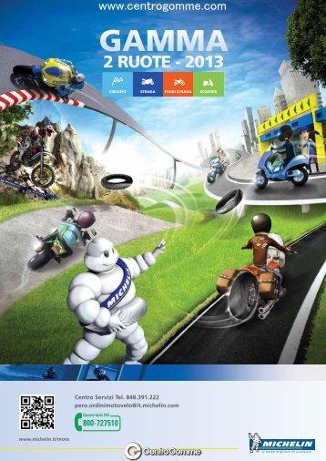 Michelin Moto 2013 - Centrogomme