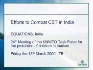 Efforts to Combat CST in India - Equations