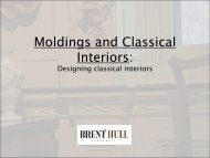 Moldings Millwork and Architectural Interiors - Metrocon