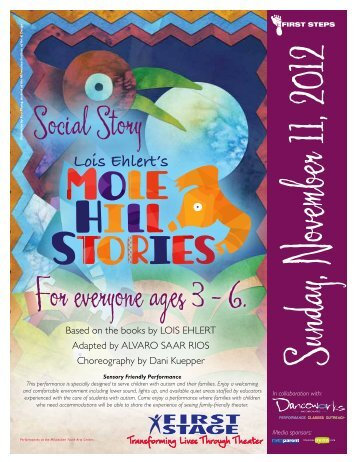 For everyone ages 3 – 6. Social Story - First Stage
