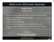 What is the LEED Green Associate - Metrocon