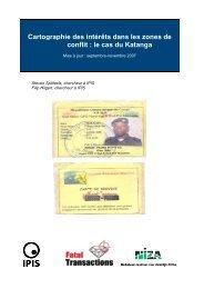 20080130 Update Katanga FR - Ipis