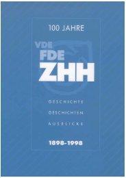 Chronik 1898 - Zentralverband Hartwarenhandel eV