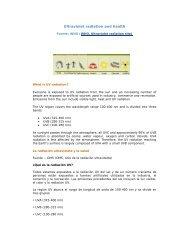 Ultraviolet radiation and health - Revista Virtual de Redesma