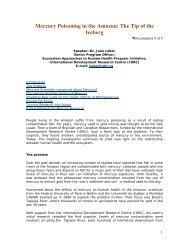 Mercury _poisoning_in_Amazon.pdf - Revista Virtual de Redesma