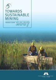 Towards susTainable Mining - Revista Virtual de Redesma