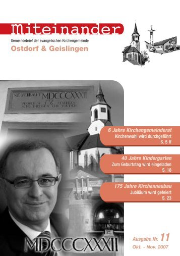 Evangelische Kirchengemeinde Ostdorf-Geislingen