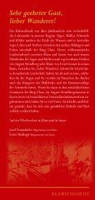 Klamschlucht mit dem Strindbergweg - Strindbergmuseum Saxen - Seite 2