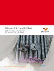 Wiborex Injection Drill Bolt - Minova