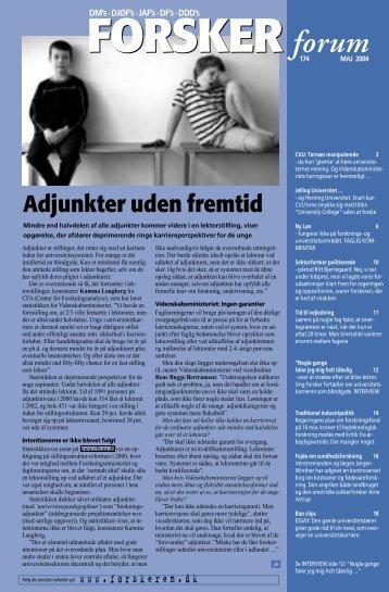 Adjunkter uden fremtid - FORSKERforum