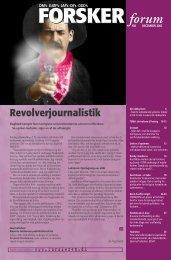 Revolverjournalistik - FORSKERforum