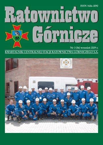 RG 2009 Nr 3 - Centralna Stacja Ratownictwa Górniczego w Bytomiu