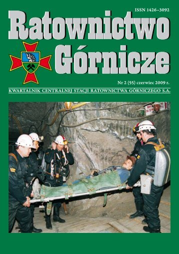 RG 2009 Nr 2 - Centralna Stacja Ratownictwa Górniczego w Bytomiu