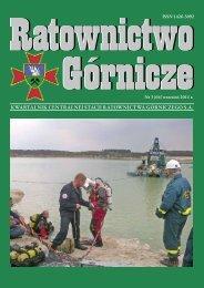 RG 2011 Nr 3 - Centralna Stacja Ratownictwa Górniczego w Bytomiu