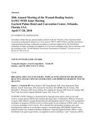 2010 Abstracts-pah[2] - Wound Healing Society