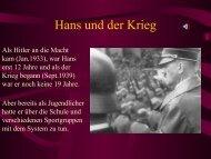 Hans und der Krieg - gidwa