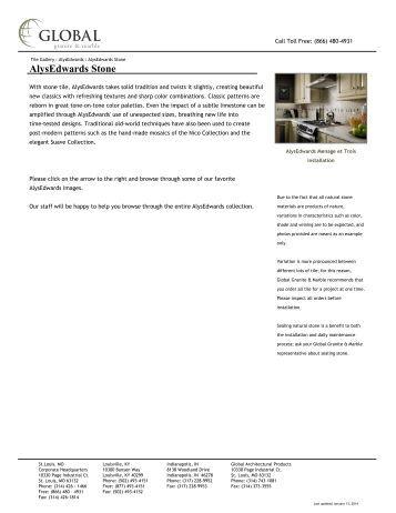 AlysEdwards Stone - Global Granite & Marble