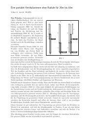 Eine portable Vertikalantenne ohne Radiale für 20m bis 10m