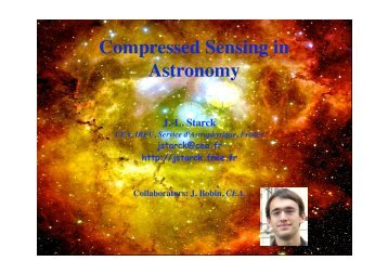Compressed Sensing in Astronomy - Convex Optimization