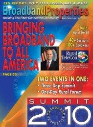 To Exhibit or Sponsor, contact - Broadband Communities Magazine