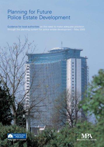 MPS - Planning for future police estate development