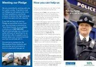 Policing Pledge leaflet [PDF]