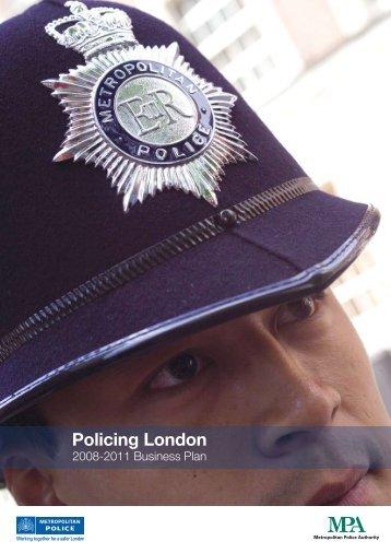 Policing London Plan 2008/11 - Summary